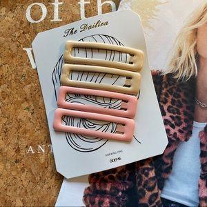 NWOT Anthropologie Hair Pin Set